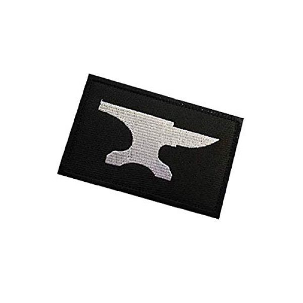 Embroidery Patch Airsoft Morale Patch 3 Blacksmith Military Hook Loop Tactics Morale Embroidered Patch