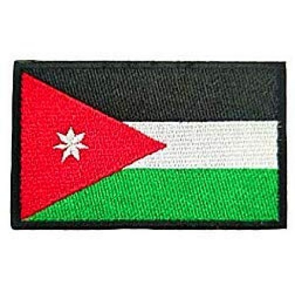 Embroidery Patch Airsoft Morale Patch 1 Jordan Flag Patch Military Hook Loop Tactics Morale Embroidered Patch
