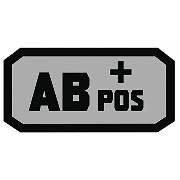 Fox Outdoor Airsoft Morale Patch 1 Fox Outdoor Products AB Pos Medical & Morale Patches