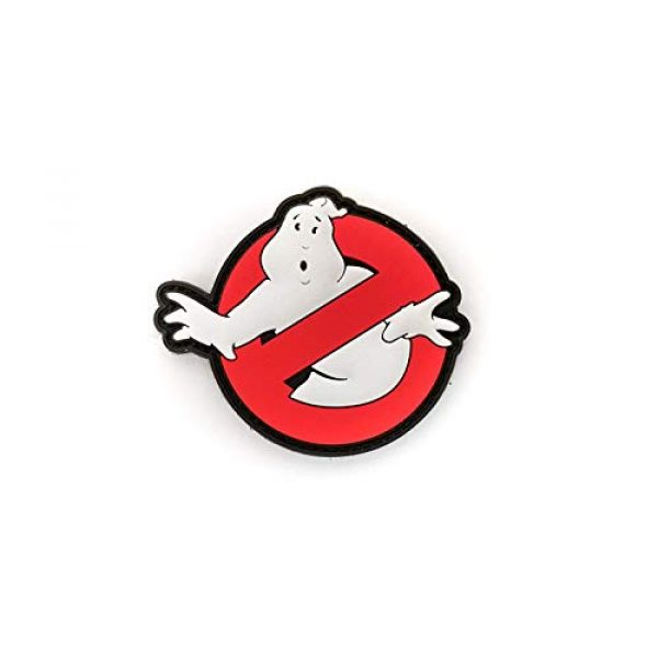 """Tactical Innovations Canada Airsoft Morale Patch 1 PVC Morale Patch - Ghostbusters 3""""x3"""""""