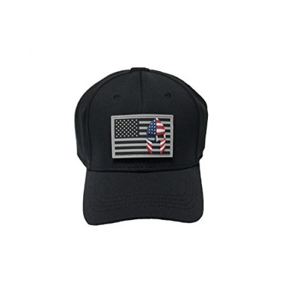 Armorbilt Airsoft Morale Patch 4 USA Flag with Spartan Helmet (Molon Labe) 3D PVC Rubber Morale Patch, Represent American Pride, Perfect for Tactical Operator Caps, Hats, Jackets, Bags, Packs and Military Apparel