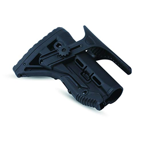 SONOVEL Airsoft Gun Stock 6 SONOVEL Soft Spring Toy Nylon Tail HolderFAB Rear Holder Nerf Tactical Modification Accessories Suitable for Water Bomb and NERF