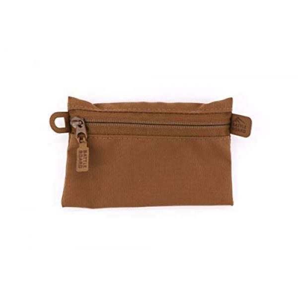 Battle Board Tactical Pouch 2 Battle Board Tactical Zip Pouch - Coyote Accessory Pouch