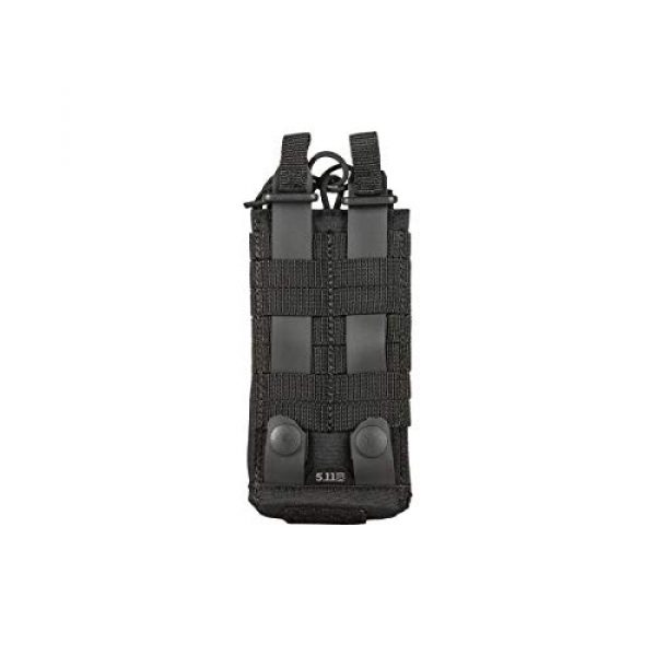 5.11 Tactical Pouch 3 5.11 Tactical Comapct, Lightweight Flex Radio Pouch, Style # 56428, Black
