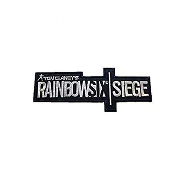 Embroidery Patch Airsoft Morale Patch 1 Rainbow Six Siege Military Hook Loop Tactics Morale Embroidered Patch