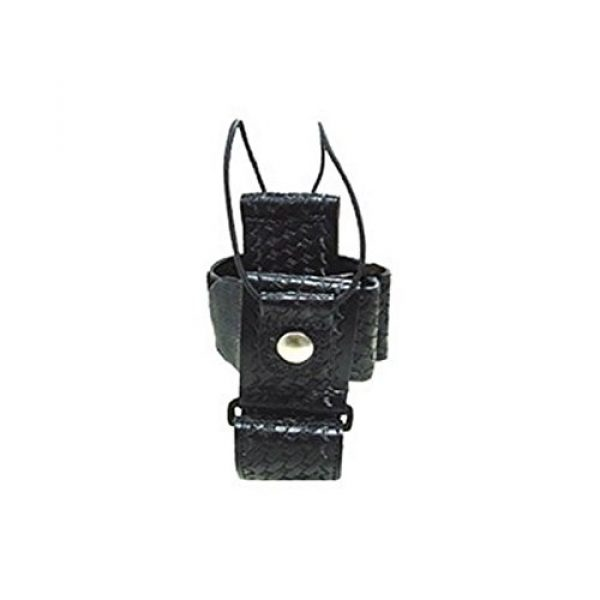 Boston Leather Tactical Pouch 1 Boston Leather Super Adjustable Radio Holder -