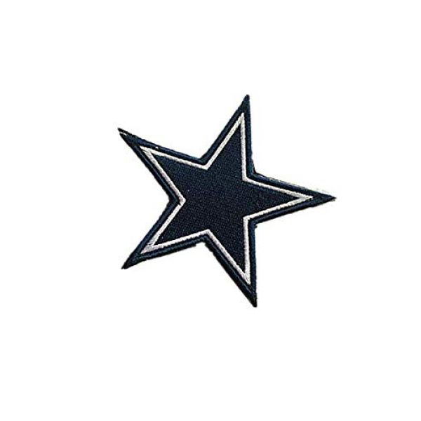 Embroidery Patch Airsoft Morale Patch 3 National Football League Dallas Military Hook Loop Tactics Morale Embroidered Patch