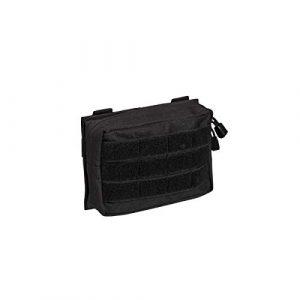 Mil-Tec Tactical Pouch 1 Mil-Tec MOLLE Belt Pouch Small Black