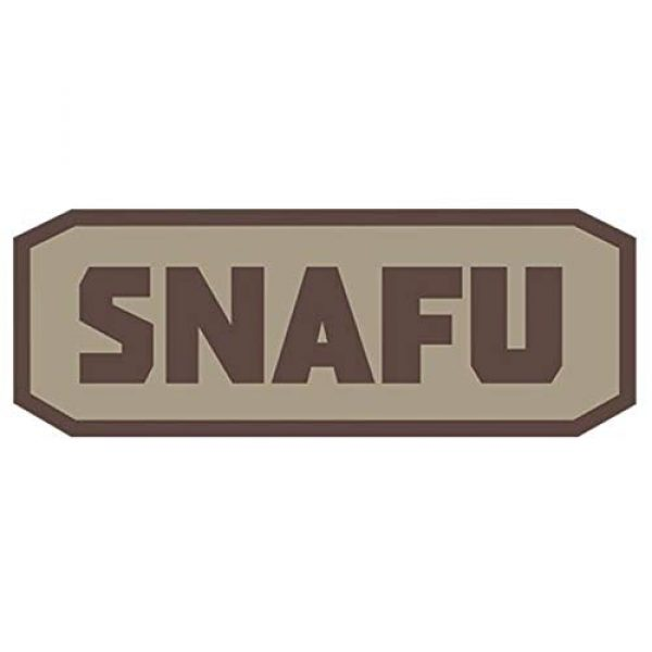 Fox Outdoor Airsoft Morale Patch 1 Fox Outdoor Products Snafu Medical & Morale Patches
