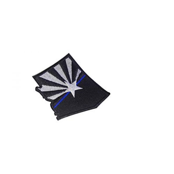 DREAM ARMY Airsoft Morale Patch 1 DREAM ARMY Arizona State Flag MAP Tactical Thin Blue LINE USA Morale SWAT Morale Patch Hook Backing