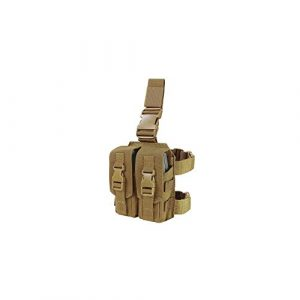 Condor Tactical Pouch 1 Condor Drop Leg Mag Pouch - Coyote Brown