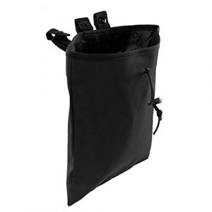 BraveHawk OUTDOORS Tactical Pouch 1 BraveHawk OUTDOORS MOLLE Dump Pouch, 900D Nylon Oxford Tactical Waterproof Drawstring MAG Magazine Recovery Utility Drop Pouch Hunting Bag Military Accessories
