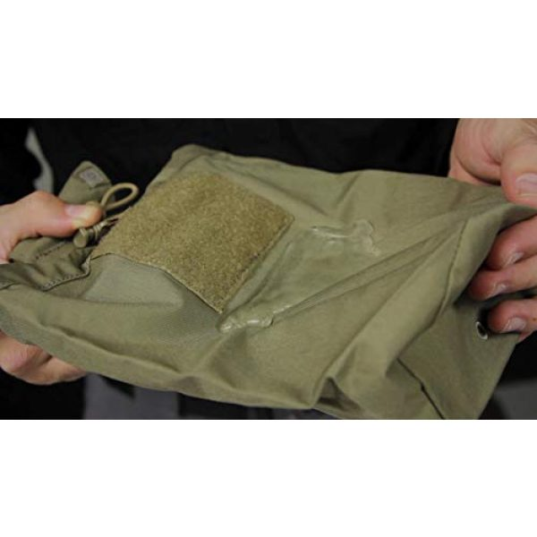 5.11 Tactical Pouch 4 5.11 Tactical Expandable Large Drop Pouch, 10-Inch Storage, Water/Weather Resistant, Style 58703