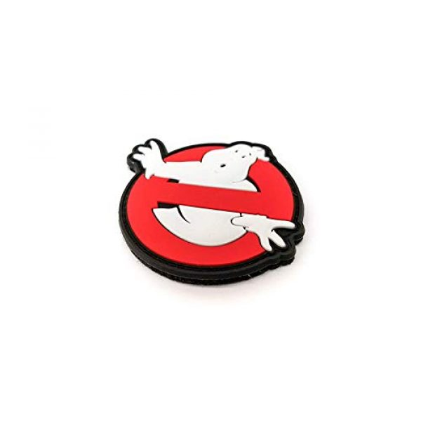 """Tactical Innovations Canada Airsoft Morale Patch 2 PVC Morale Patch - Ghostbusters 3""""x3"""""""