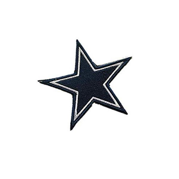 Embroidery Patch Airsoft Morale Patch 2 National Football League Dallas Military Hook Loop Tactics Morale Embroidered Patch