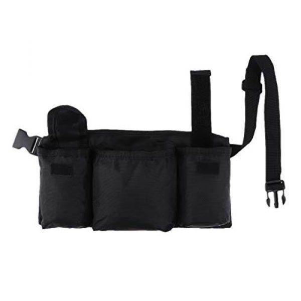 Abbraccia Tactical Pouch 1 Abbraccia Adjustable Waist Bag with Quick Release Buckle