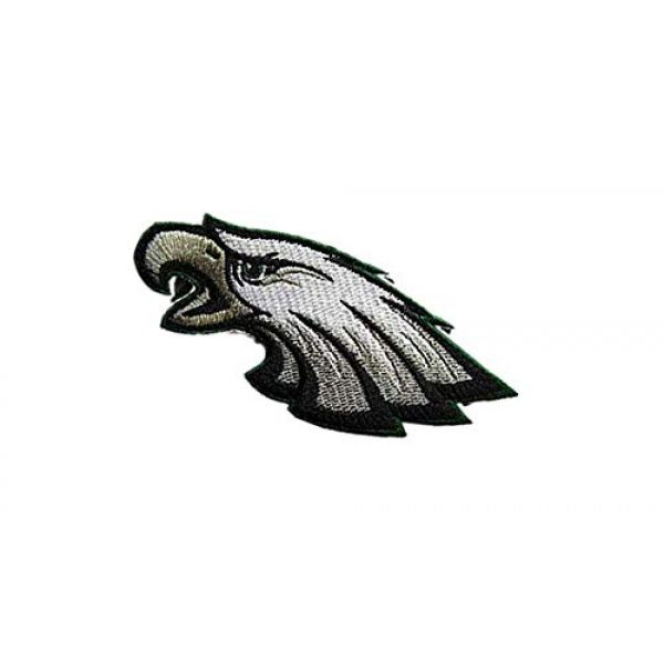 Embroidery Patch Airsoft Morale Patch 3 National Football League Eagles Logo Military Hook Loop Tactics Morale Embroidered Patch