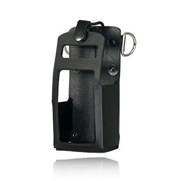 Boston Leather Tactical Pouch 1 Boston Leather Radio Holder for Bendix King 5708RC-1
