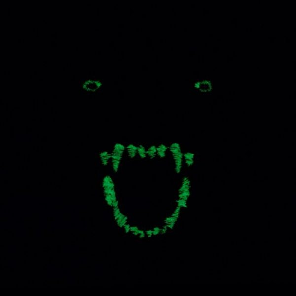 LEGEEON Airsoft Morale Patch 3 LEGEEON Glow Dark GITD K9 Pitbull Dog Teeth Scary Fierce Morale Tactical Embroidered Hook&Loop Patch