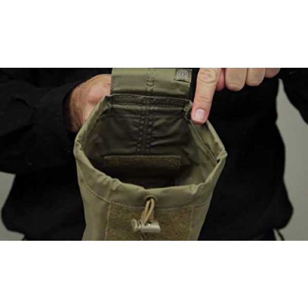 5.11 Tactical Pouch 3 5.11 Tactical Expandable Large Drop Pouch, 10-Inch Storage, Water/Weather Resistant, Style 58703