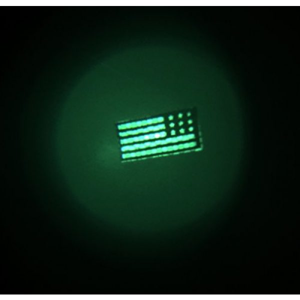 Empire Tactical USA Airsoft Morale Patch 3 Reversed 2x1 Mini Mulitcam/OCP Inch Mini Infrared Ir Us Flag Patch Us Army Special Forces Green Beret