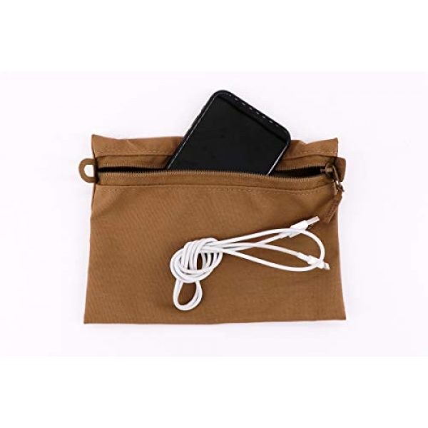Battle Board Tactical Pouch 6 Battle Board Tactical Zip Pouch - Coyote Accessory Pouch