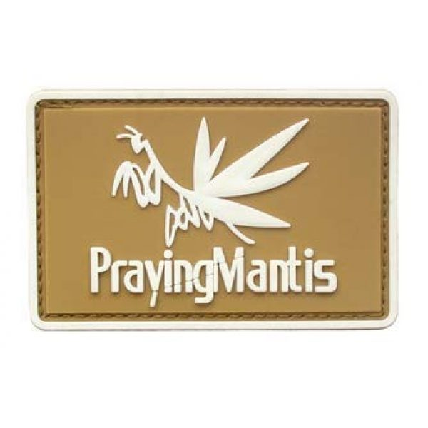 Tactical PVC Patch Airsoft Morale Patch 1 Metal Gear Solid MGS Prayingmantis PVC Military Tactical Morale Patch Badges Emblem Applique Hook Patches for Clothes Backpack Accessories