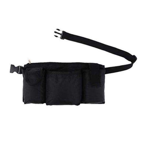 Abbraccia Tactical Pouch 3 Abbraccia Adjustable Waist Bag with Quick Release Buckle