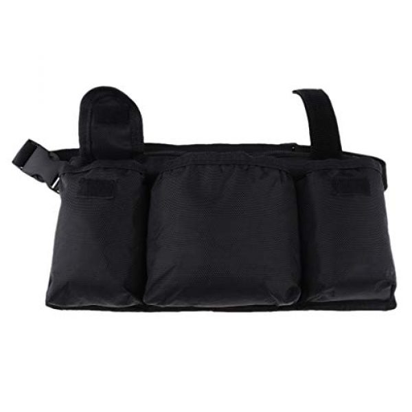 Abbraccia Tactical Pouch 6 Abbraccia Adjustable Waist Bag with Quick Release Buckle