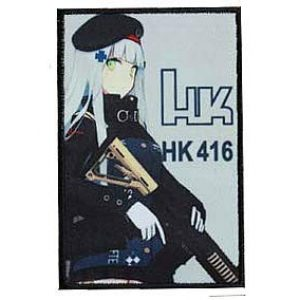 Fine Print Patch Airsoft Morale Patch 1 Girls' Frontline Griffin Kryuger 404 Military Hook Loop Tactics Morale Embroidered Printed Patch