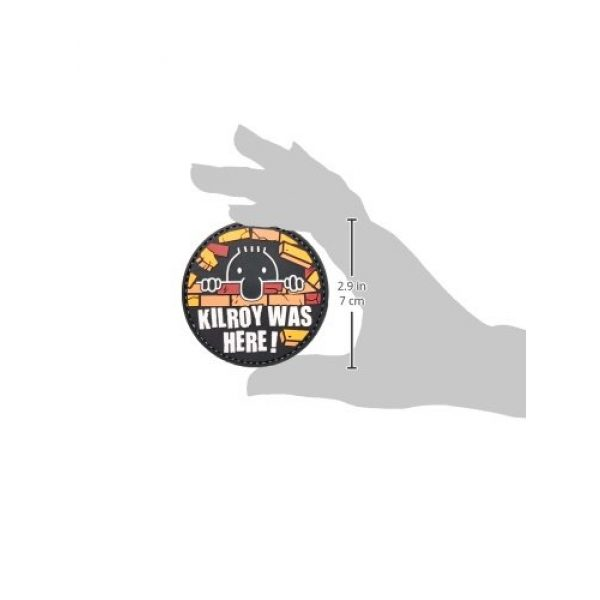 5ive Star Gear Airsoft Morale Patch 3 5ive Star Gear Kilroy Morale Patch, Multi-Color, One Size