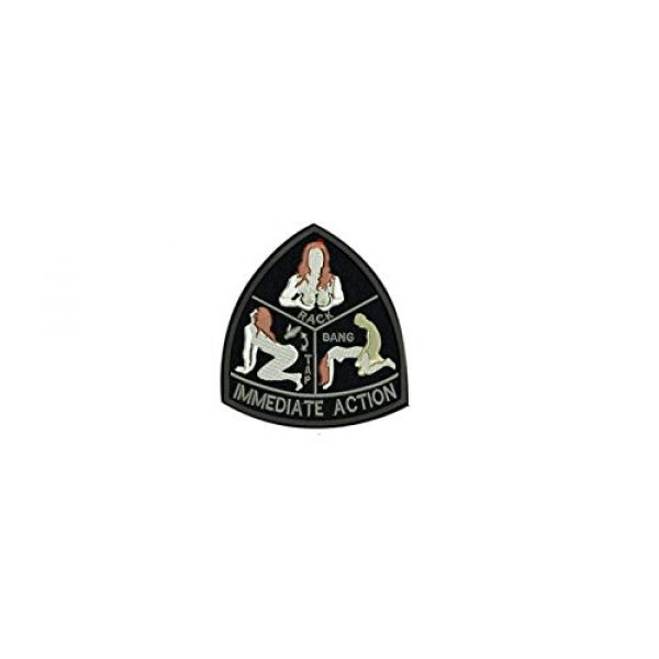DREAM ARMY Airsoft Morale Patch 1 DREAM ARMY Mil-Spec Monkey IMMEDIATE Action Morale Patch Hook Backing tap Rack Bang