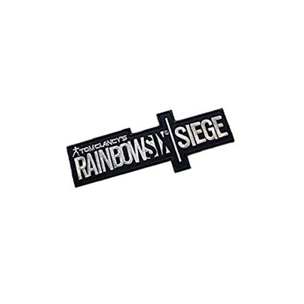 Embroidery Patch Airsoft Morale Patch 2 Rainbow Six Siege Military Hook Loop Tactics Morale Embroidered Patch