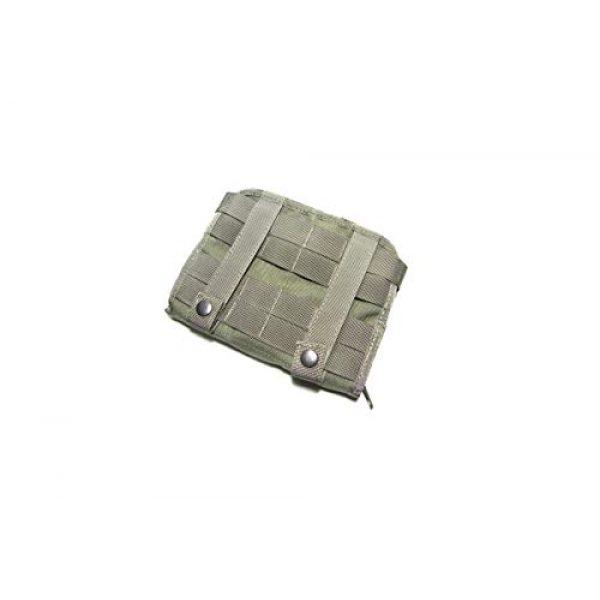 Airsoft Mega Armory Tactical Pouch 2 Airsoft Mega Armory AMA Mini 1000D Admin Modular Pouch - Ranger Green