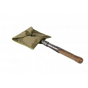 SSO/SPOSN Tactical Pouch 1 SSO/SPOSN Russian Military Pouch Under a Small Infantry Shovel