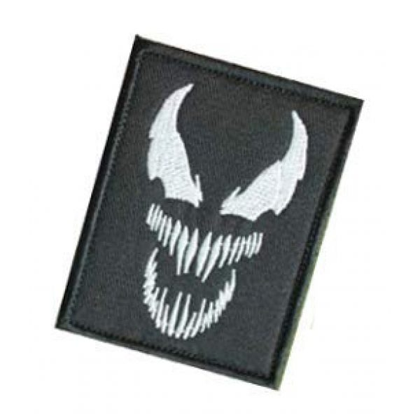 Embroidery Patch Airsoft Morale Patch 3 Venom Monster Marvel Movies Superhero Military Hook Loop Tactics Morale Embroidered Patch