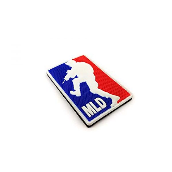 """Tactical Innovations Canada Airsoft Morale Patch 2 PVC Morale Patch - MLD - Major League DoorKicker 2""""x3"""" (3D)"""