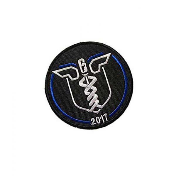 Embroidery Patch Airsoft Morale Patch 2 Rainbow SIX Delta Force Navy Seal Special Airsoft Softair Medic Military Hook Loop Tactics Morale Embroidered Patch