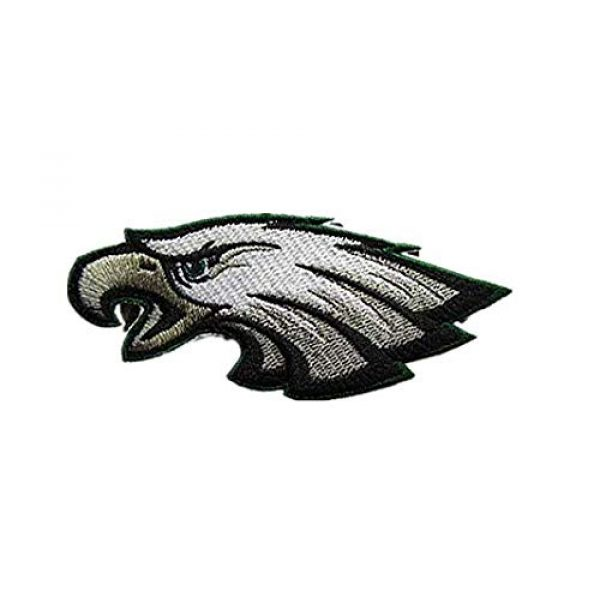 Embroidery Patch Airsoft Morale Patch 1 National Football League Eagles Logo Military Hook Loop Tactics Morale Embroidered Patch