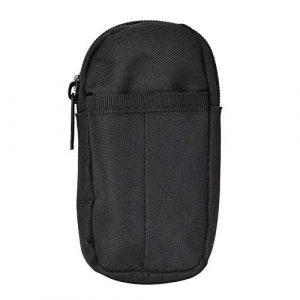 Natruss Tactical Pouch 2 Natruss Wear-Resistant Belt-Wearing Design Outdoor Bag, 800D High Density Nylon Multi-Layer Design Outdoor Accessory Bag,(Black)