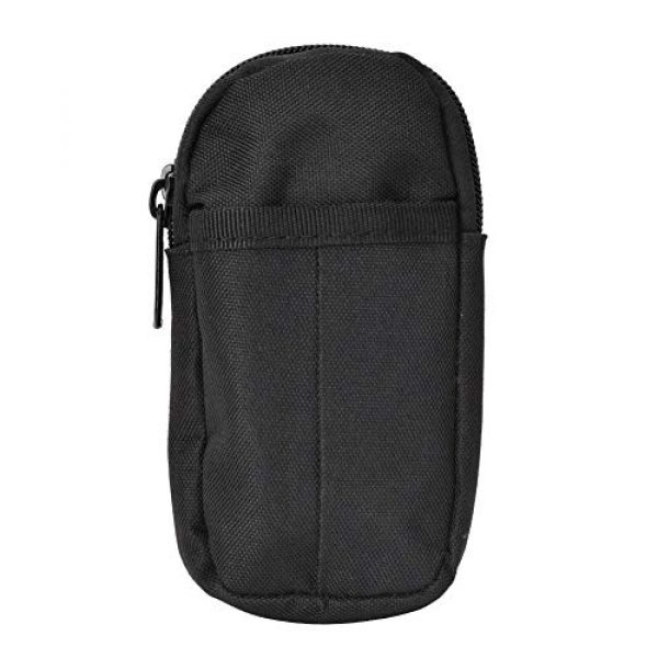 Shanbor Tactical Pouch 3 Shanbor Long Time Use Wear-Resistant Outdoor Accessory Bag, Convenient to Use 800D High Density Nylon Outdoor Bag, for(Black)