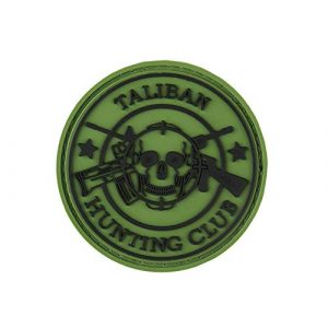 G-Force Airsoft Morale Patch 1 G-Force New Taliban Hunting Club PVC Morale Patch - OD Green