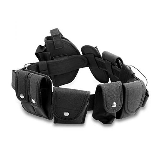 adit_to Tactical Pouch 2 adit_to 1 Pcs Police Security Guard Modular Enforcement Equipment Duty Belt Tactical 800 Nylon