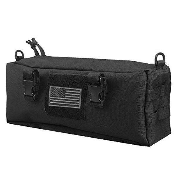 AMYIPO Tactical Pouch 1 AMYIPO Tactical Pouch Multi-Purpose Large Capacity Increment Pouch Short Trips Bag