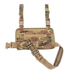 EMERSONGEAR Tactical Pouch 1 EMERSONGEAR Tactical MOLLE Drop Leg Platform,Airsoft Thigh Mount Rig with Adjustable Detachable Belt & Thigh Straps,Drop Leg Holster Panel for Hunting Paintball