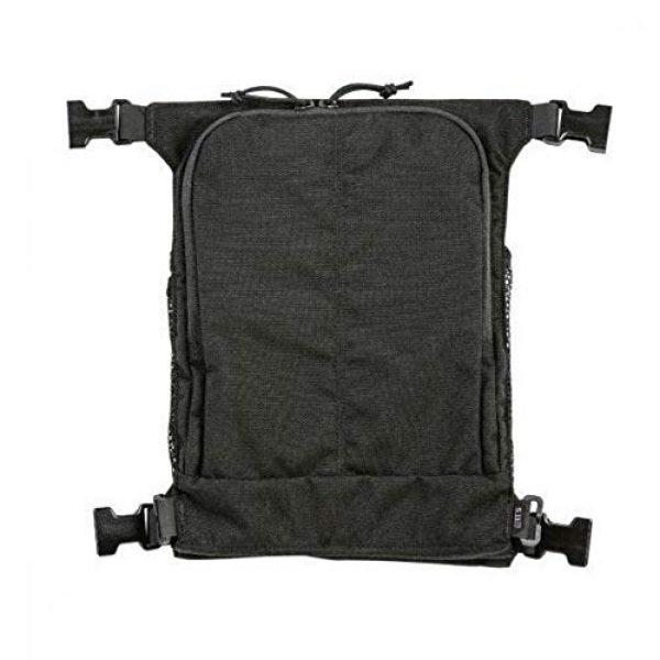 5.11 Tactical Pouch 1 5.11 Tactical Style # 56491 Helmet Pouch & Shove-It Gear Set, Black