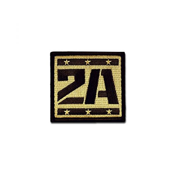 BASTION Airsoft Morale Patch 1 BASTION Morale Patches (2A Supporter, ACU)   3D Embroidered Patches with Hook & Loop Fastener Backing   Well-Made Clean Stitching   Military Patches Ideal for Tactical Bag, Hats & Vest