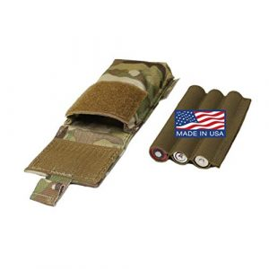 U.S. Tactical Sewing Tactical Pouch 1 U.S. Tactical Sewing USTS NVG Helmet Counterweight Battery Pouch - Made in USA