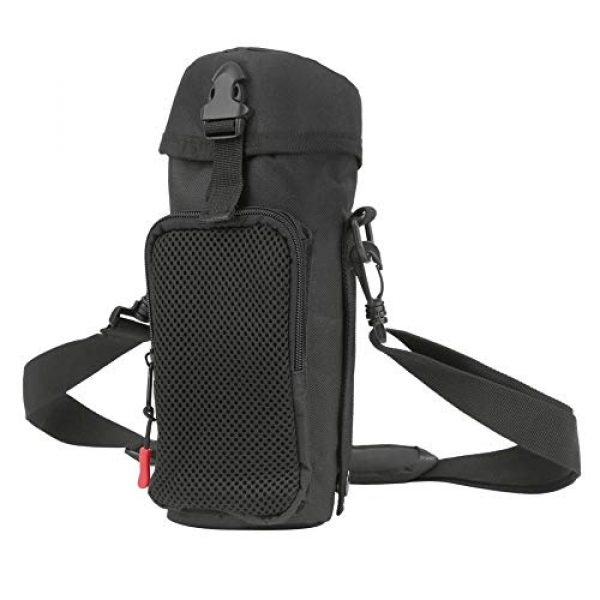 VGEBY Tactical Pouch 1 VGEBY Outdoor Water Bottle Bag Waterproof Outdoor Tactics Water Bottle Bag Pouch Hydration Carrier Sport Bag for Camping Hiking Fishing