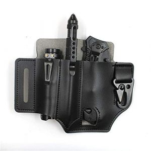 LIEYING Tactical Pouch 1 LIEYING Tactical Multifunction Belt Holster EDC Portable Tool Storage Bag Knife Cover Scabbard Waist Clip Outdoor Tool Pocket Organizer